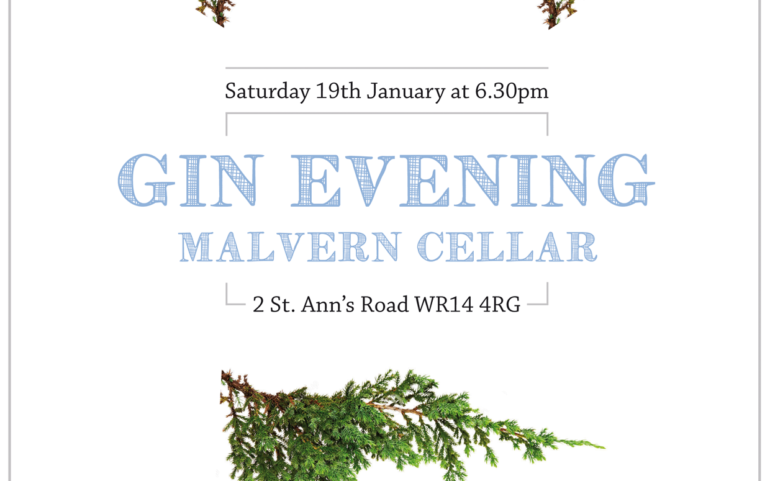 Gin Evening 19th January 2019